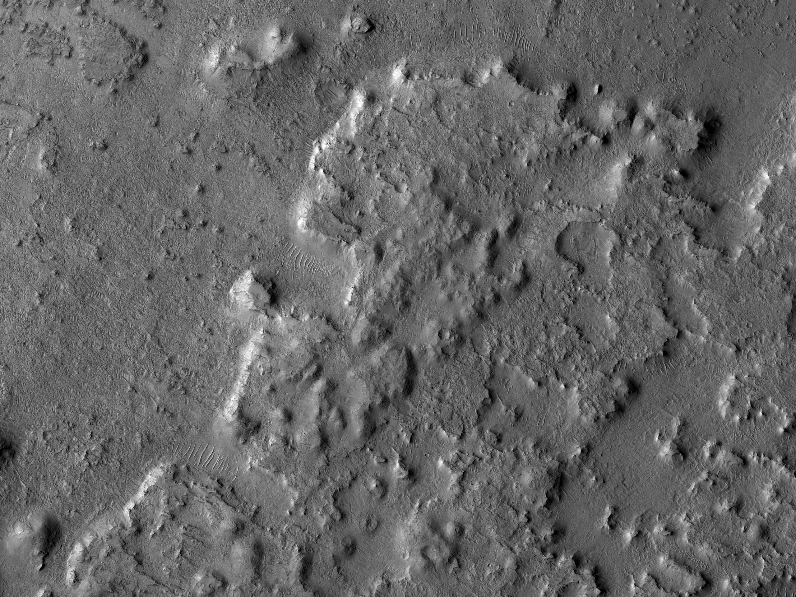 Possible Clays in Arabia Terra