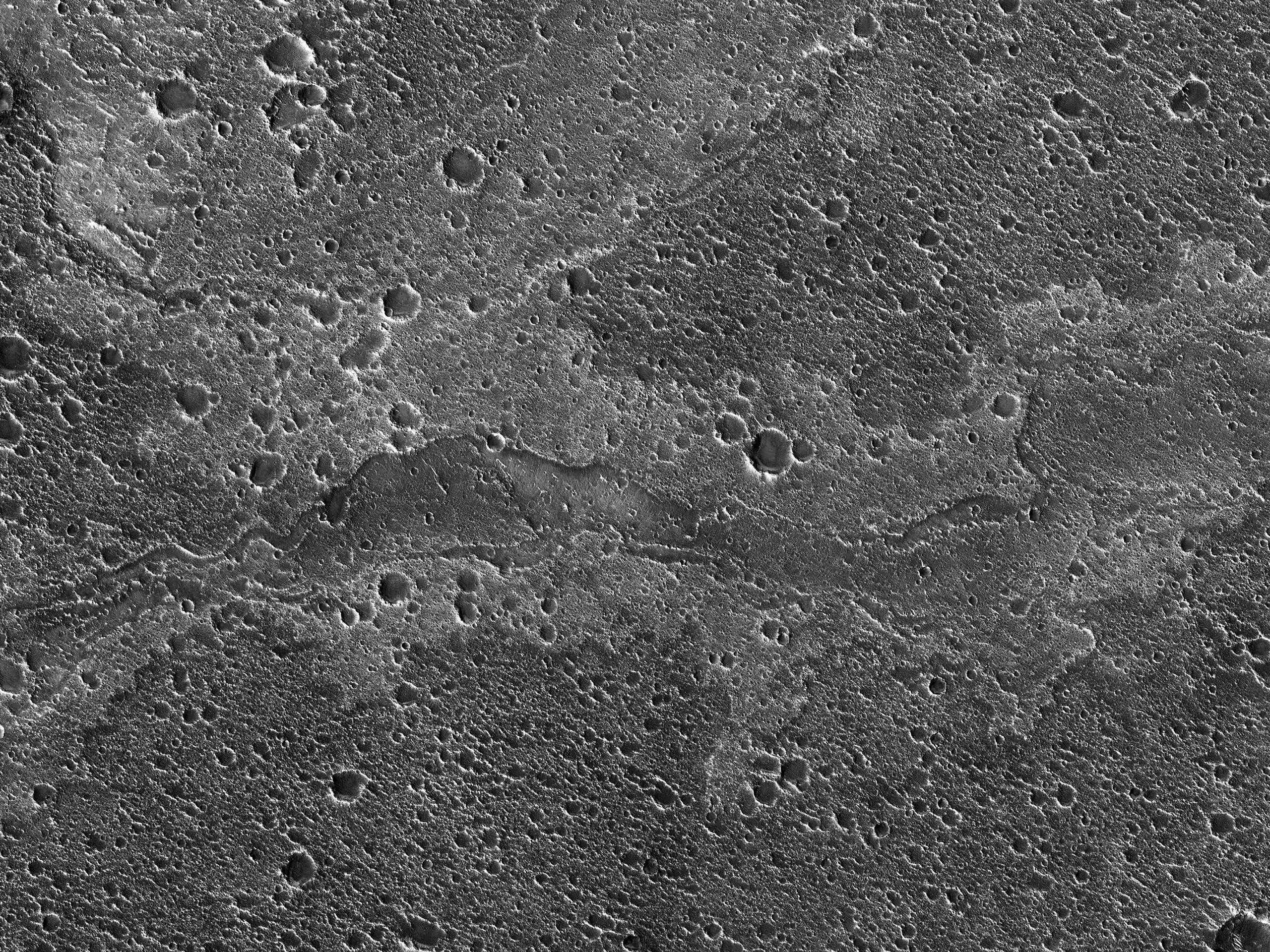A Flow-Like Feature within Chryse Planitia