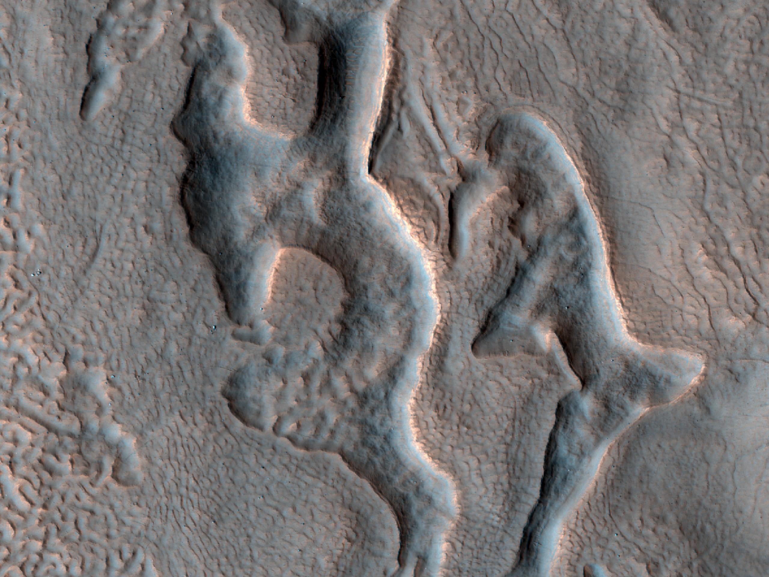 Contact in Deuteronilus Mensae