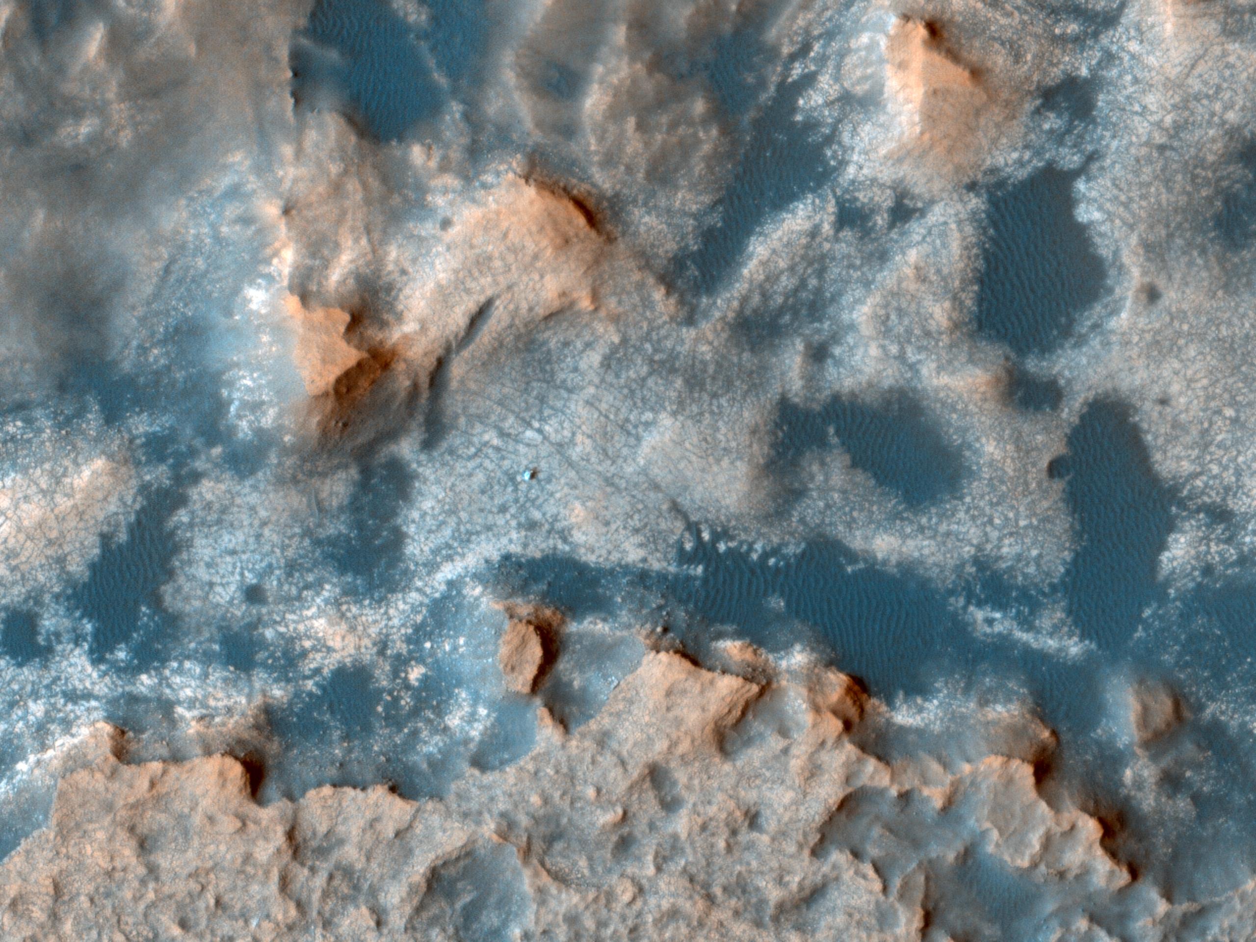Monitoring near the Curiosity Rover