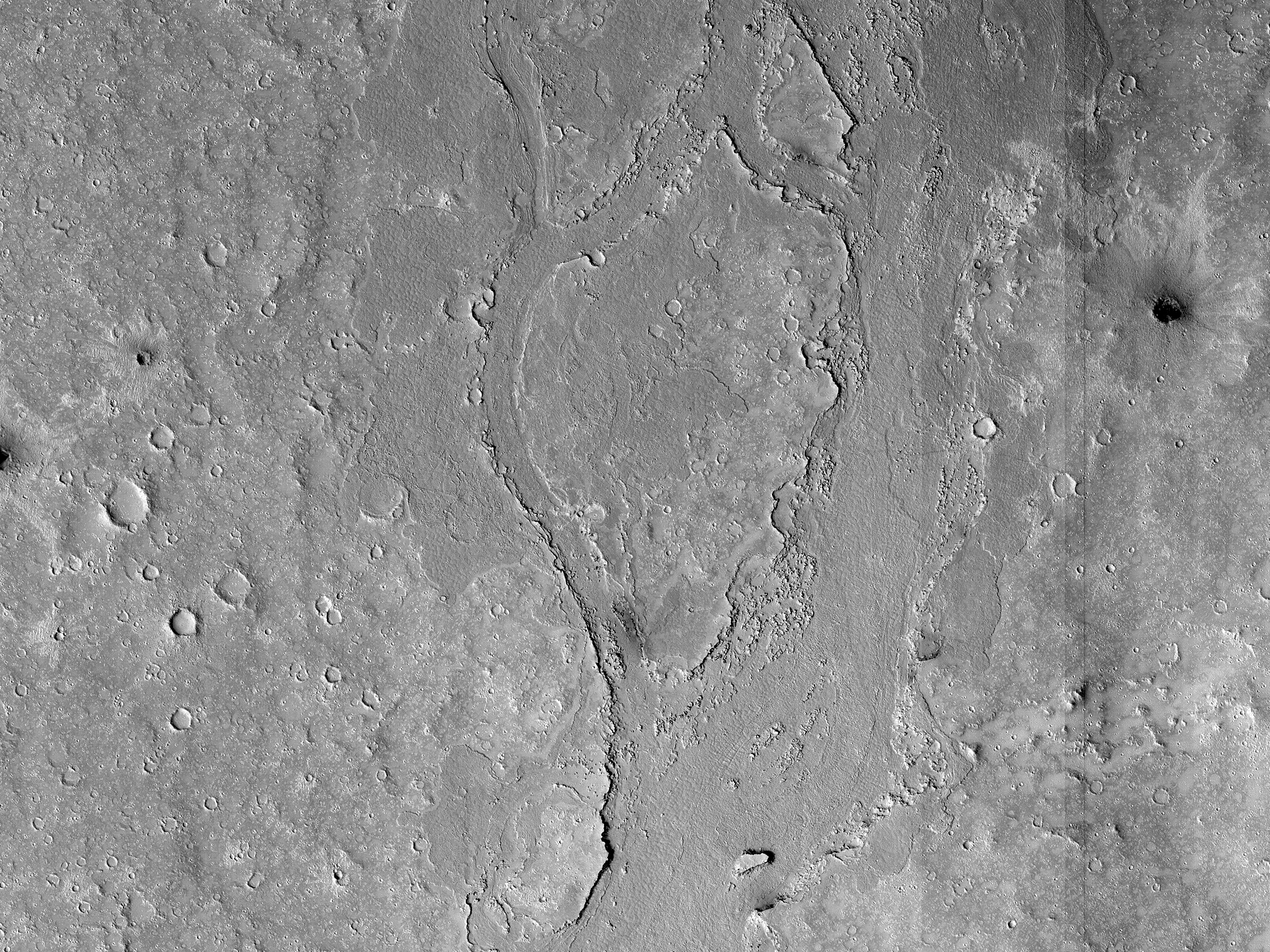 A Minor Channel in Athabasca Valles