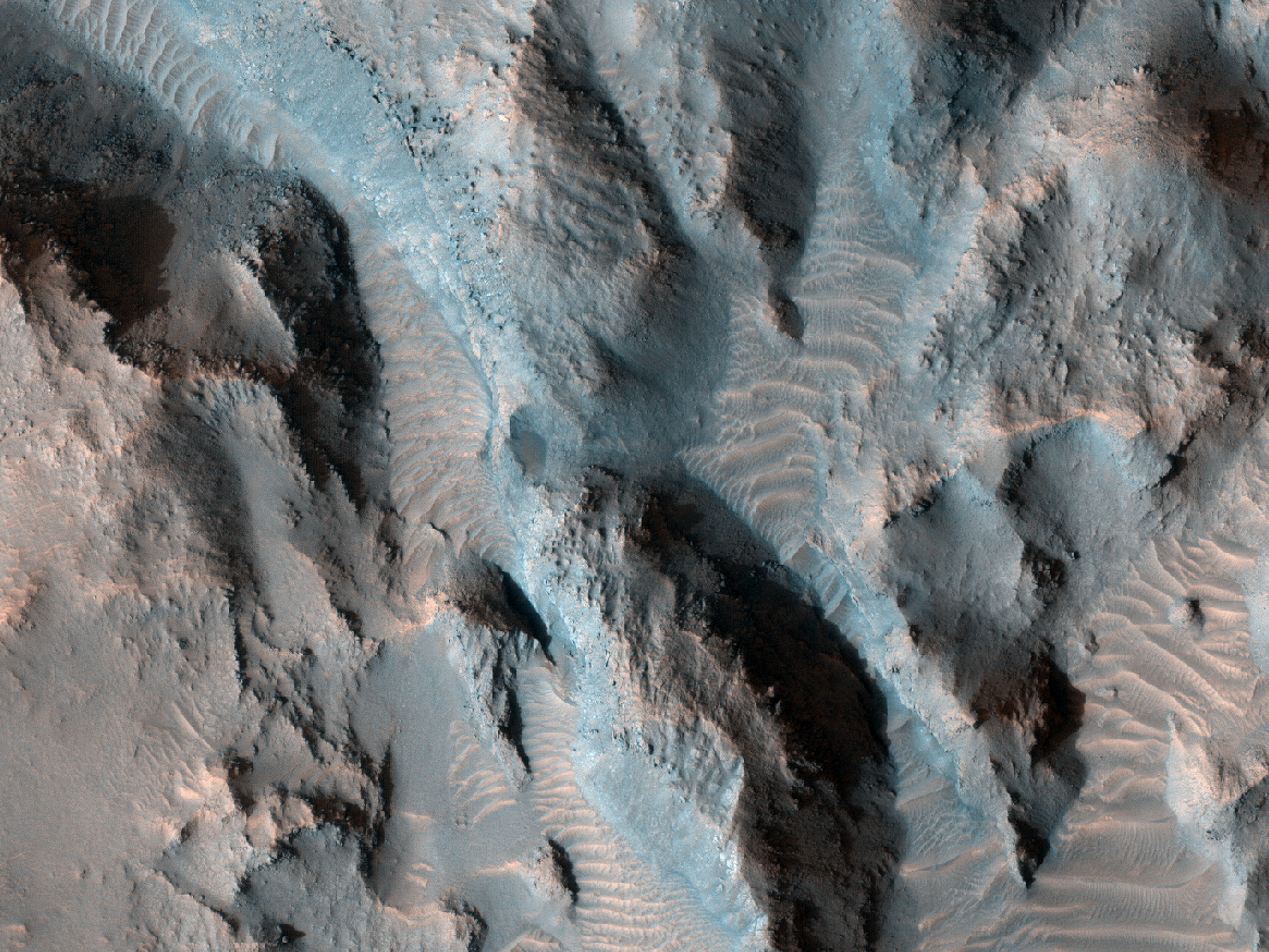 Layered Bedrock