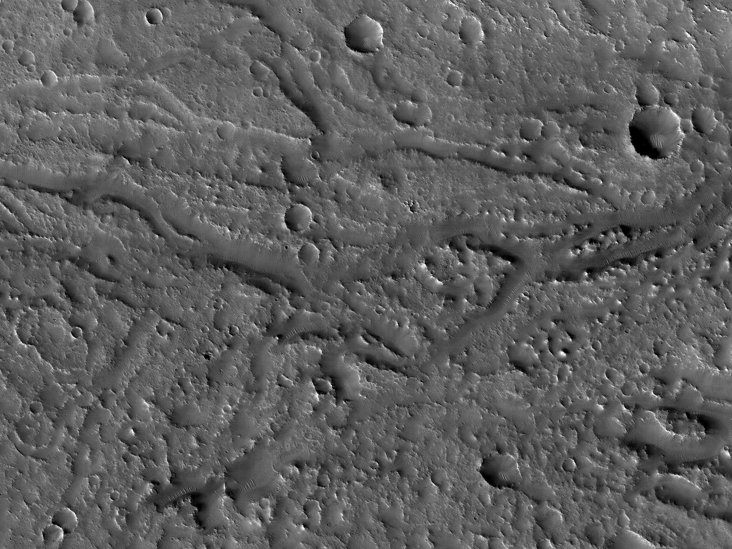 Channels to the West of Idaeus Fossae