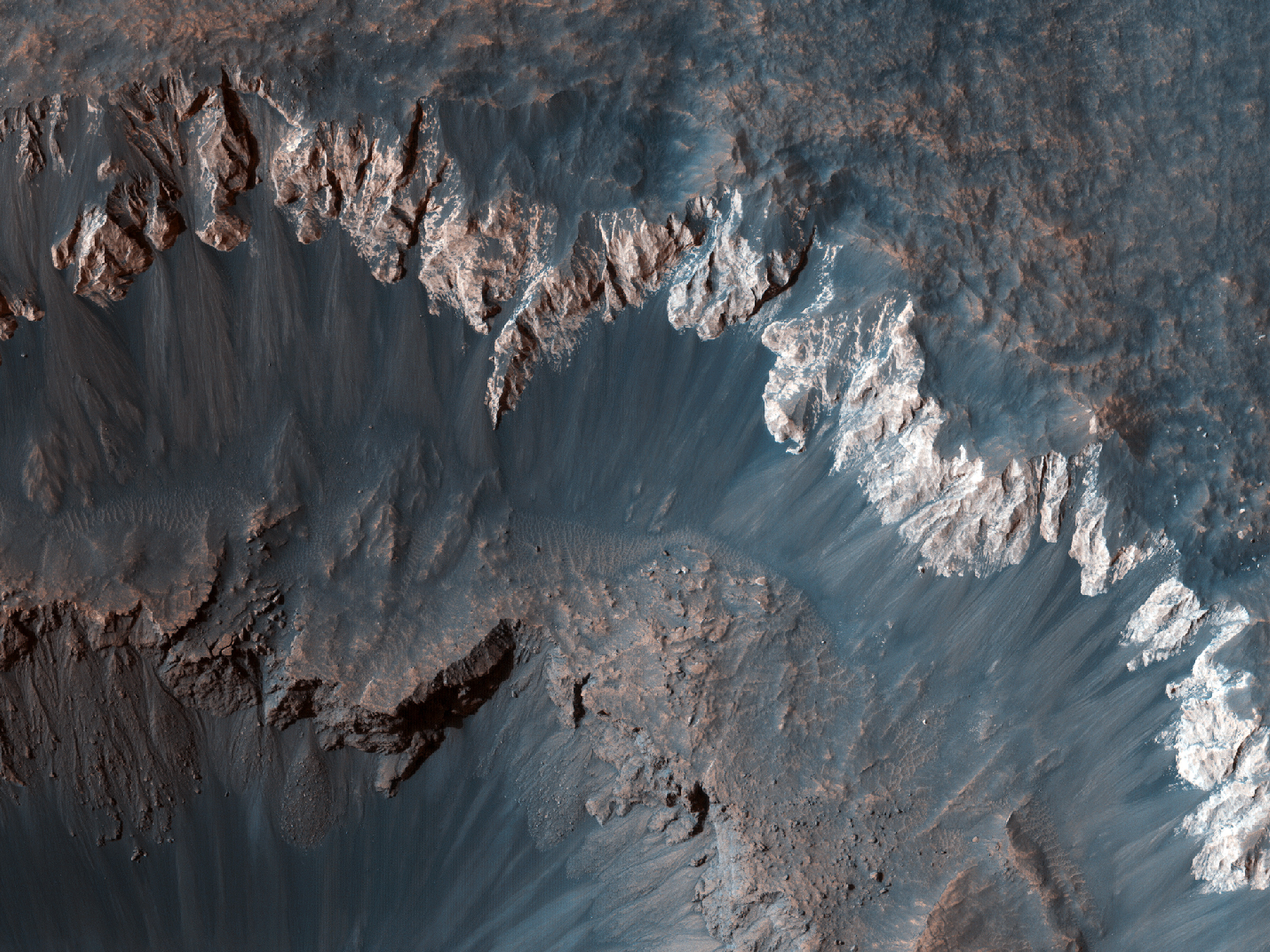 Ada Crater Slope Monitoring