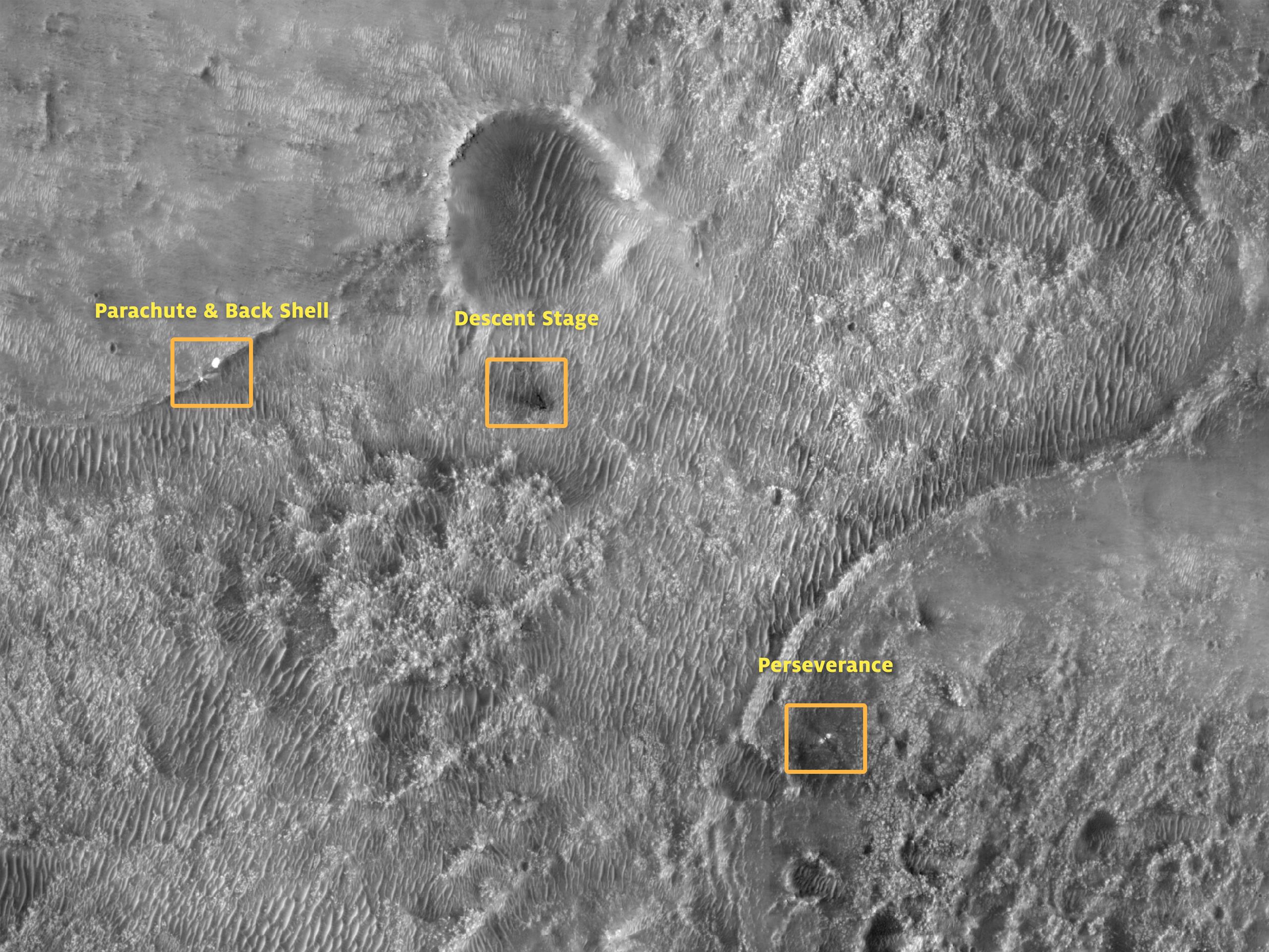 Perseverance στο έδαφος του Άρη