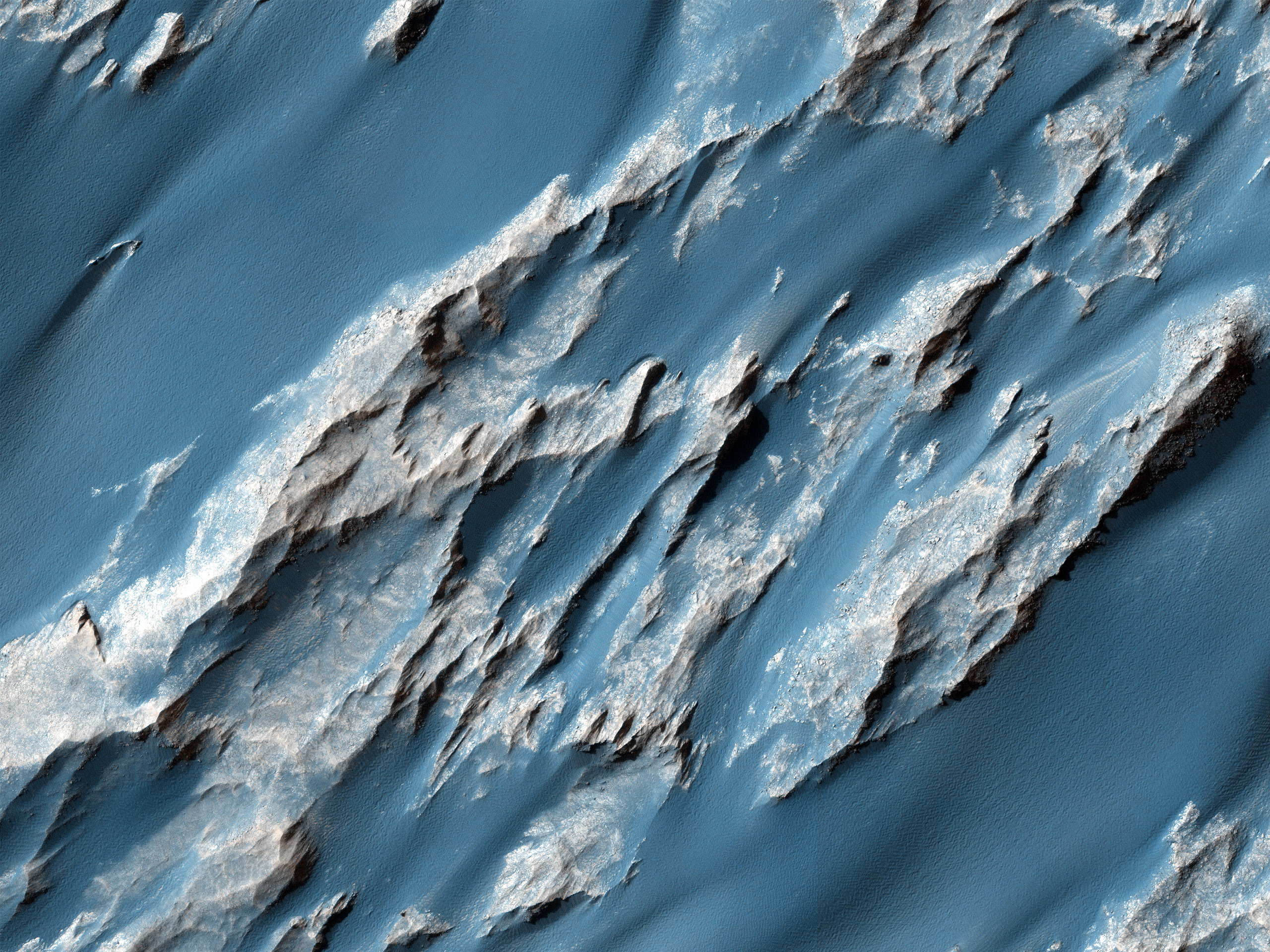 Hydrated Sulfate Landslides in Ophir Chasma