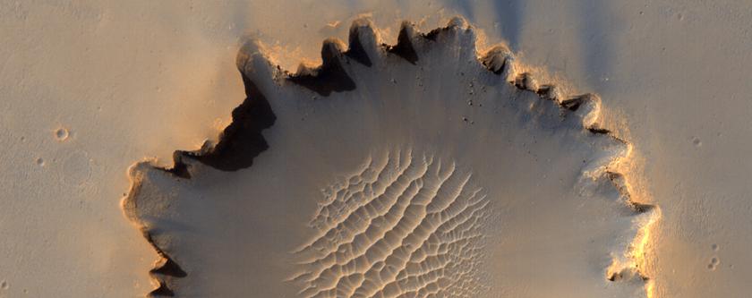 Ο Κρατήρας Victoria στο Οροπέδιο του Μεσημβρινού (Meridiani Planum)
