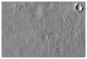 Possible Inverted Channel in Filled Crater