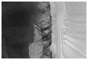 Stratigraphic Section of Chasma Boreale Scarp