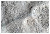 La frontera de la dicotomía en Marte