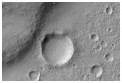 Wrinkle Ridges in Solis Planum