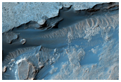 Edge along Gale Crater Interior Mound