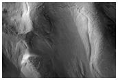 Gullies in Dao Valles