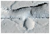 Chimenea Volcánica en la Región de Tharsis