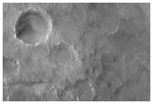 Syrtis Major Noachian Terrain Northern Contact