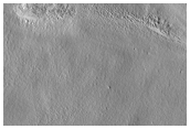 Sample Surface Texture in Grooved Terrain in Arcadia Planitia