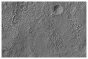 Crater Rim in Solis Planum