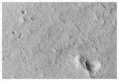 Dark Spot in Phlegra Region