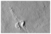 Dissected Vent on the Southern Flank of Ascraeus Mons