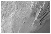 Interior Layered Deposits Exposure in Coprates Chasma