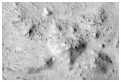 Mineralogically Interesting Crater Floor