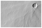Small Volcano East/Southeast of Pavonis Mons