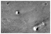 Branched Features on Floor of Antoniadi Crater