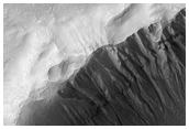 Multiple Episodes of Gully Formation, As Seen in MOC Image R16-02071