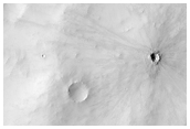 Crater with Rayed Ejecta