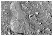 Layering in Crater