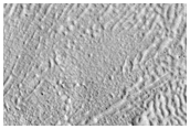 Layered Deposits in Impact Crater in Utopia Planitia