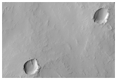 Small Volcano East-Southeast of Pavonis Mons