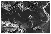 Proposed MSL site in Holden Crater Fan