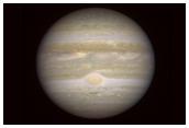 Júpiter observado desde Marte