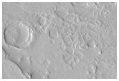 Irregular Structures in Huo Hsing Vallis