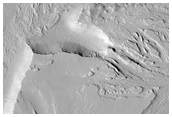 Junction of Olympica Fossae and Jovis Fossae