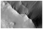 Intra-Crater Landslide South of Pyrrhae Chaos