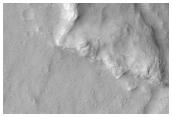 Wrinkle Ridge Cross-Cutting Relationships in Hesperia Planum