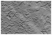 Surface of South Polar Residual Ice