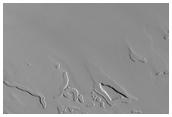 South Polar Residual Ice Surface