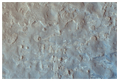 Proposed MSL Site in Gale Crater