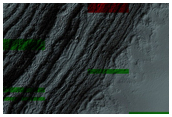 Exposure of South Polar Layered Deposit within Residual Cap