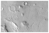 Pit Crater Chain in Isidis Region