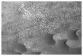 Dune Field in Kaiser Crater