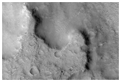 Small Valley System East of Margarifiter Chaos