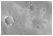 Possible Crash Site of Mars 6 Orbiter/Lander in Samara Vallis