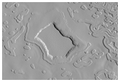 Observing Swiss-Cheese Terrain in the South Pole
