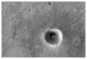 Fresh Impact with Many Secondary Craters in Acidalia Planitia