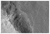 Central Uplift of Runanga Crater