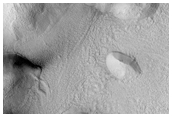Gullies Previously Identified in North-Facing Wall of Dao Vallis